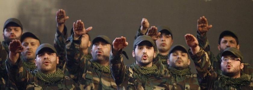 Combatentes do Hezbollah. (Reuters)
