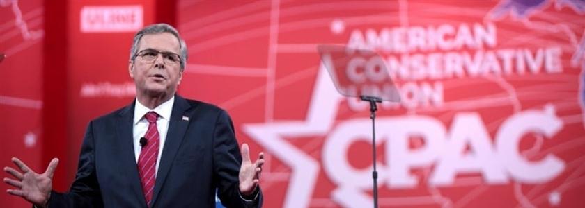 Jeb Bush é ex-governador da Califórnia e pretende se candidatar à presidência dos Estados Unidos pelo Partido Republicano.