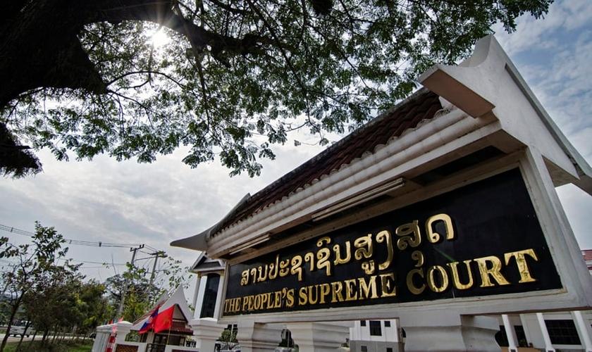 Tribunal Popular da Província de Savannakhet, em Laos. (HRWLRF)