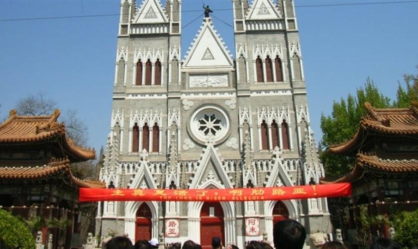 Igreja cristã chinesa