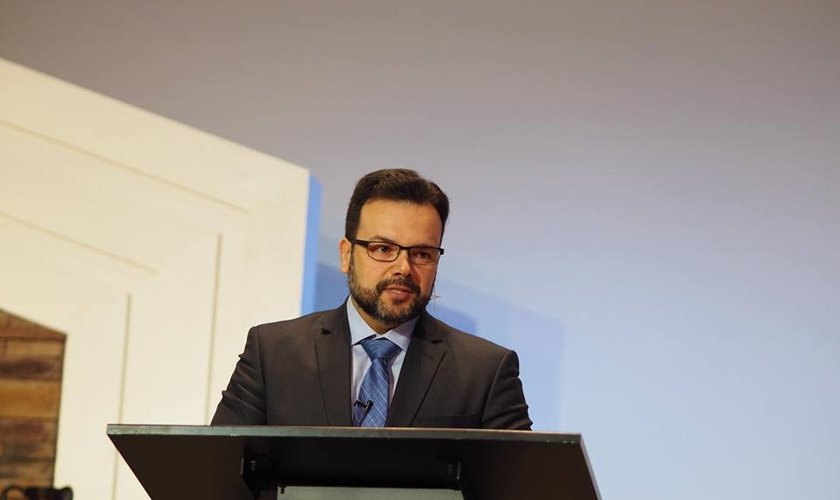 O rabino Matheus Zandona, vice-presidente do Ministério Ensinando de Sião. (Foto: Ministério Ensinando de Sião)