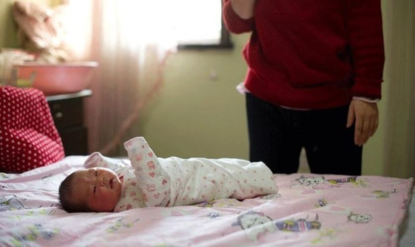 Recém-nascidos também foram vítimas do sistema de controle populacional da China. (Foto: RFA)