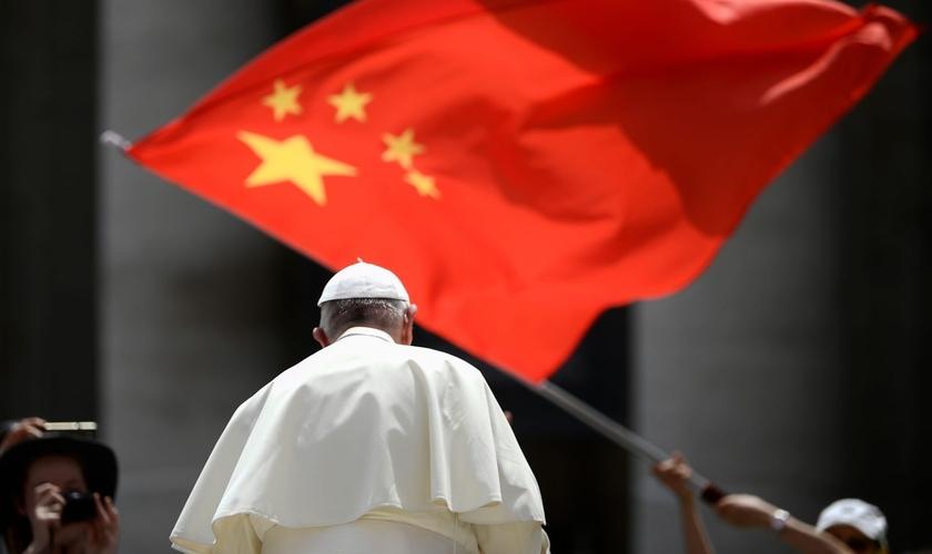 Papa Francisco visitou a China em junho de 2019. (Foto: FILIPPO MONTEFORTE/AFP VIA GETTY IMAGES)