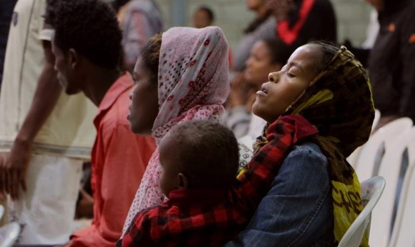 Cristãos da Etiópia têm sofrido com os conflitos armados, sobretudo na região de Tigray. (Foto: World Watch Monitor)