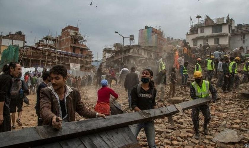 Terremoto no Nepal