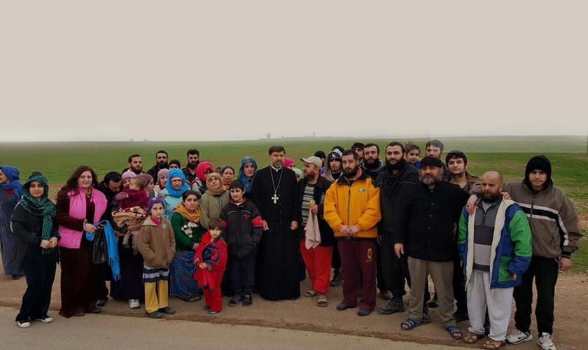 Foram libertos os últimos reféns de um grupo sequestrado no norte da Síria há um ano. (Foto: ACERO)