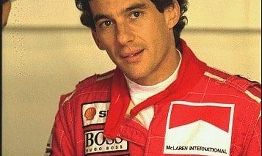 Ayrton Senna foi para o Céu?