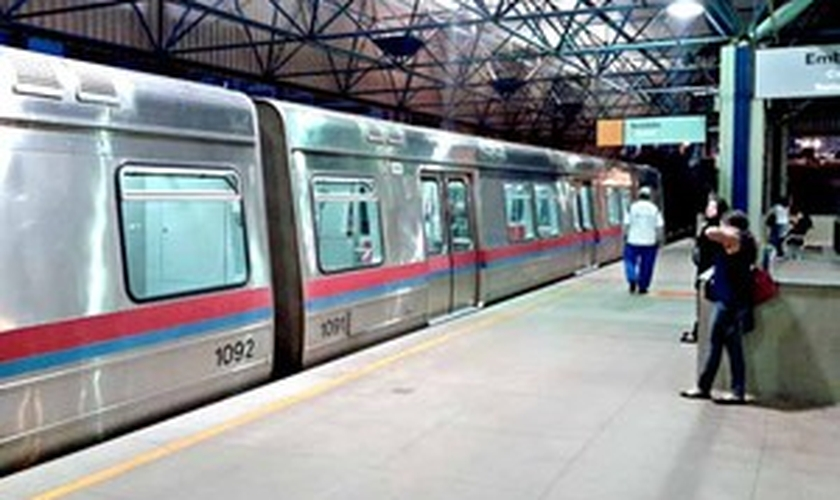 Trem do Metrô do DF
