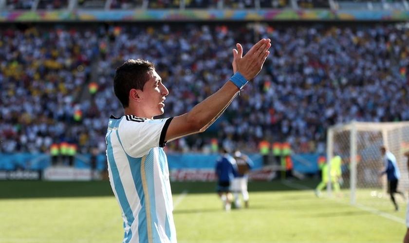 Di María vive a expectativa de jogar uma eventual final da Copa