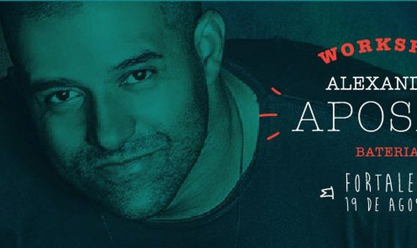 André Aposan realizará workshop em Fortaleza (CE)