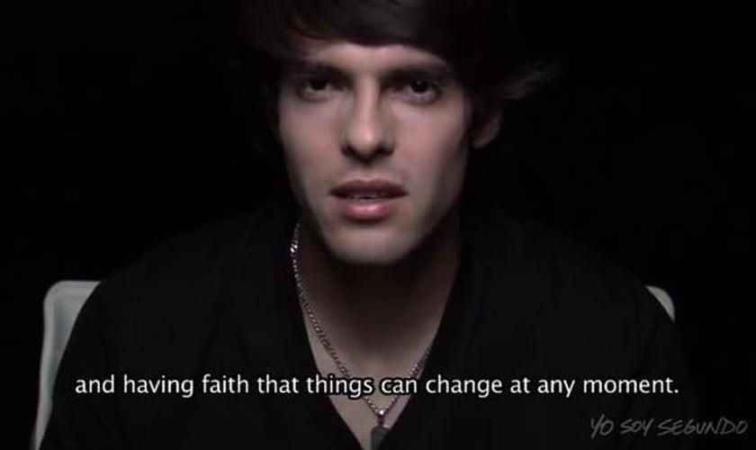 """Kaká dá o seu testemunho no projeto """"I am Second""""; assista"""