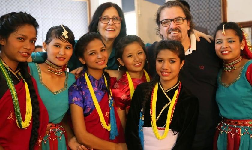 Meninas dos Olhos - Nepal