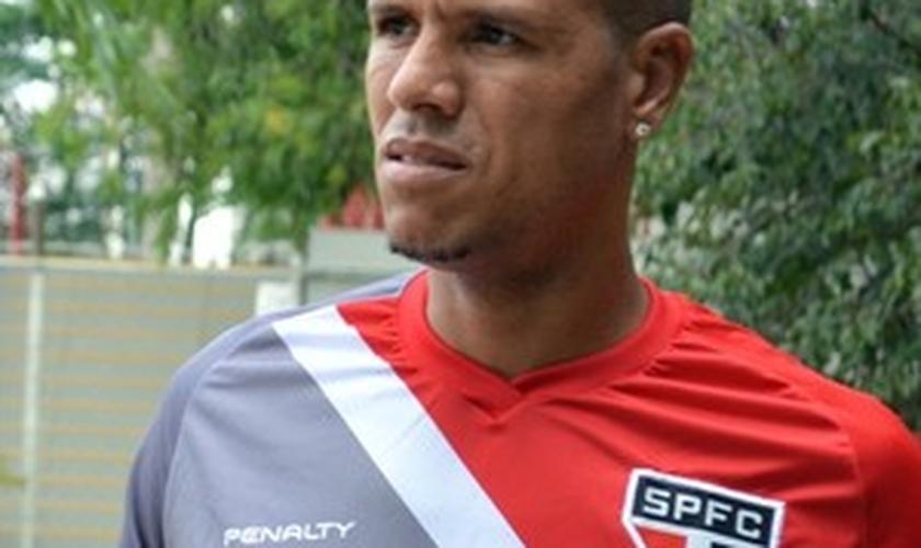 Luis Fabiano: nova lesão na coxa direita