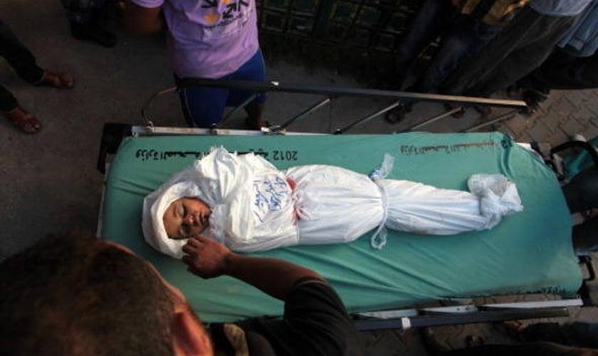 Gaza _ criança morta