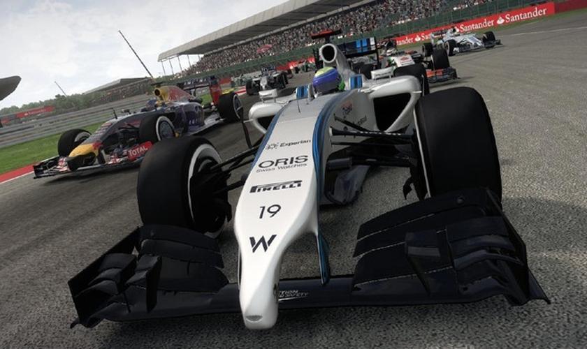 O PC receberá tanto a versão F1 2014 quanto o F1 2015