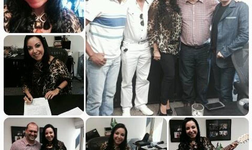 """Cristina Mel assina contrato com a Sony Music: """"Nova experiência"""""""
