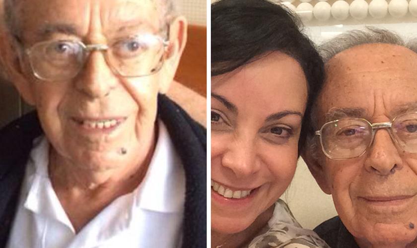 """Pai de Cristina Mel falece e cantora fala sobre o luto: """"Ele está nos braços do Criador"""""""