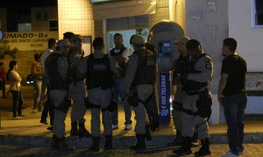 Quatro pessoas morreram em confronto com a polícia na noite de segunda-feira, em Brumado