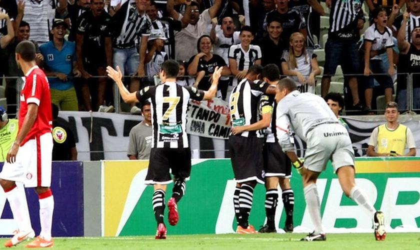 Ceará foi bem melhor durante boa parte da partida contra o Internacional