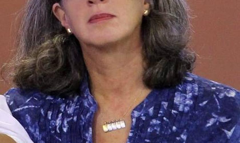 Fortaleza. A viúva Renata Campos