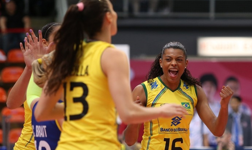 Brasil vence jogo difícil e garante vaga na fase final do Grand Prix