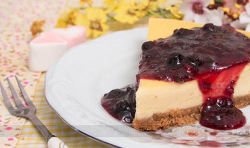 Cheesecake assada fácil