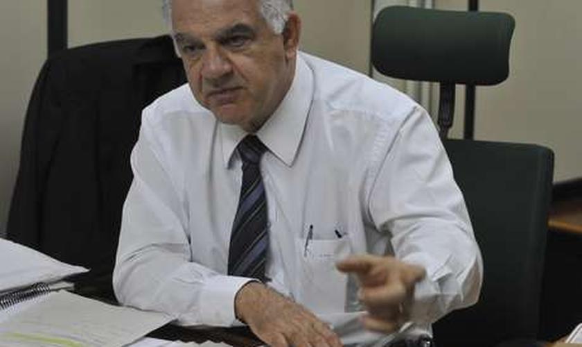 Secretaria de Saúde do Distrito Federal informou que o pedido de exoneração foi apresentado nesta quinta-feira pelo próprio Miziara (foto)