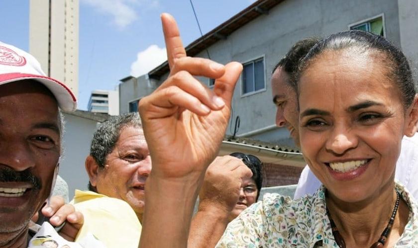 A ex-senadora foi a terceira candidata mais votada nas eleições presidenciais de 2010