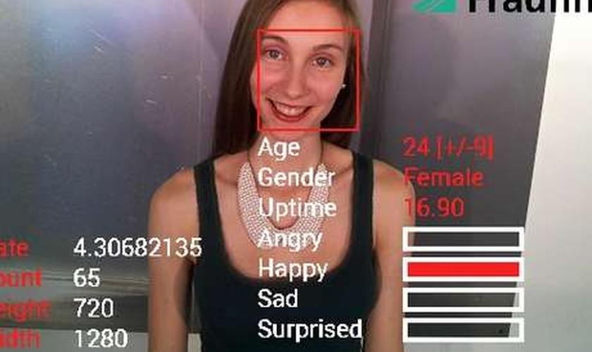 Identidade da pessoa analisada pelo aplicativo não é verificada, disse a empresa alemã