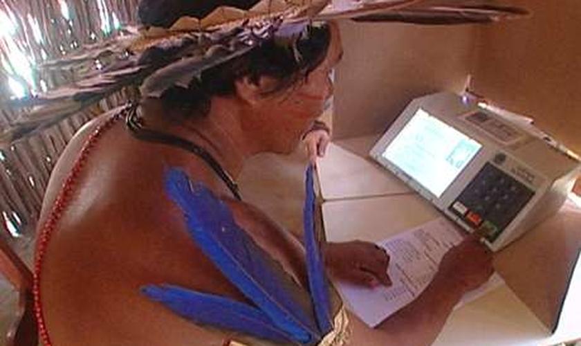 """""""Maioria dos índios faz questão de votar"""", disse coordenador da Funai"""