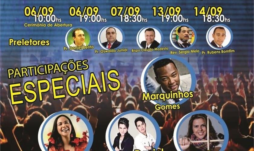 Marquinhos Gomes participará da Inauguração do templo da Igreja Cristã da Conquista