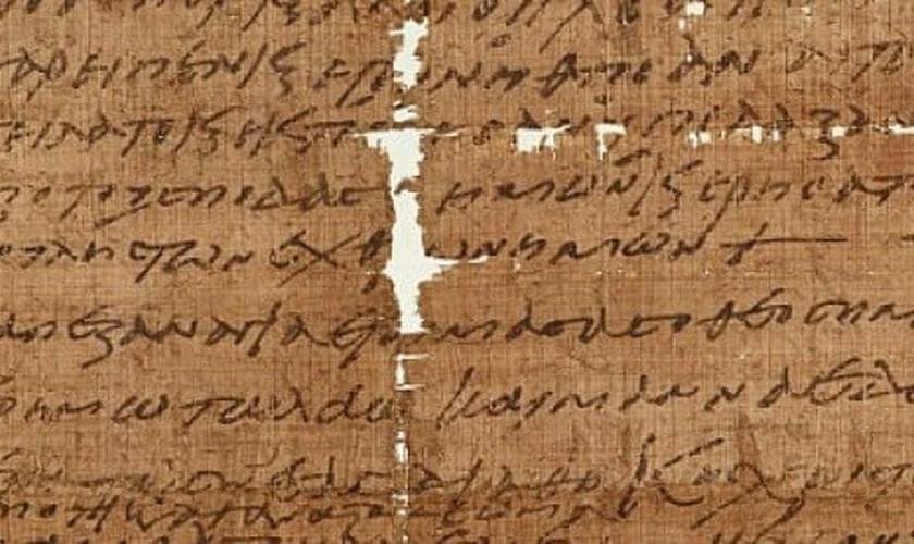 Papiro de 1.500 anos poderia ter referência à Última Ceia, com Jesus Cristo
