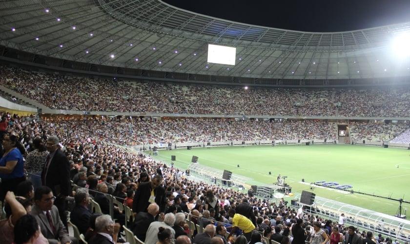 Mais de 60 mil pessoas celebram o Centenário da Assembleia de Deus no CE; veja as fotos