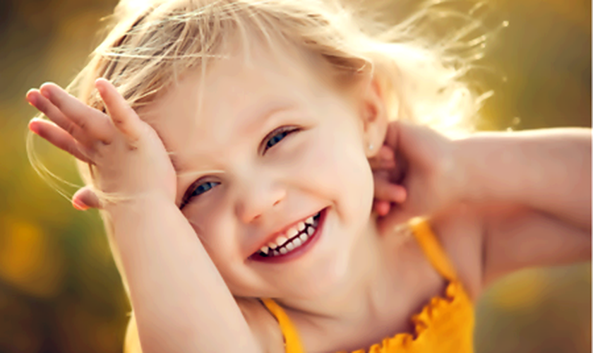 criança _ sorriso