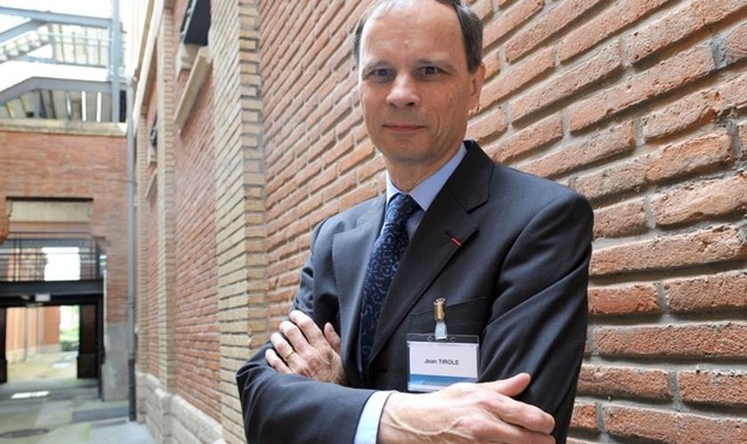 O francês vencedor do Nobel de Economia de 2014, Jean Tirole