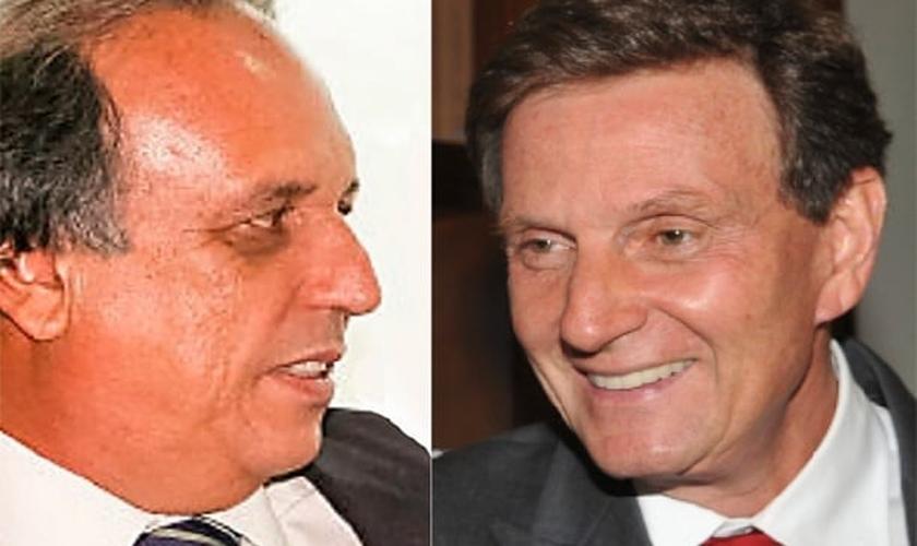 No RJ, Fernando Pezão ataca Marcelo Crivella, criticando sua relação com a IURD