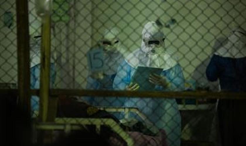 OMS estima-se que até dezembro pode subir 10 mil casos de Ebola por semana