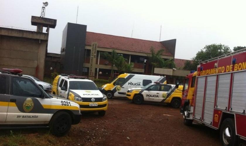 Rebelião na Penitenciária Estadual de Maringá durou 17 horas