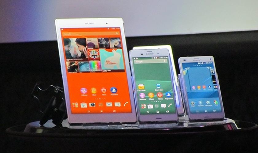 Smartphones e tablet da linha Xperia Z3 chegam ao Brasil a partir de R$ 2.099