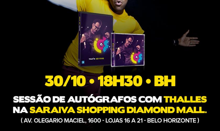 Thalles Roberto realiza Pocket Show nesta quinta-feira (30), em Belo Horizonte (MG)