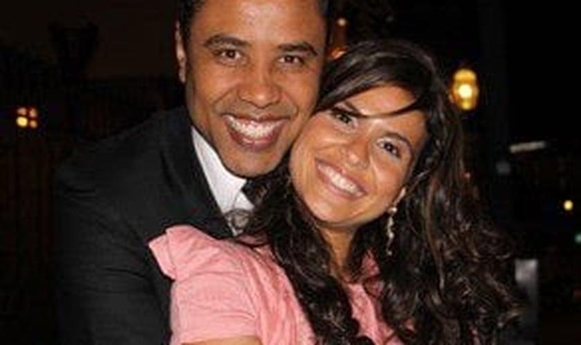 Aline Barros e Gilmar