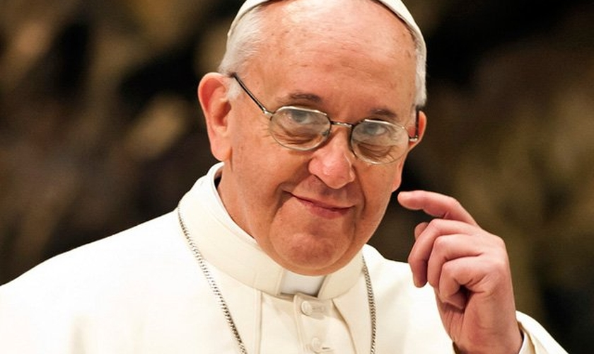 Papa Francisco esteve recentemente em viagem aos Estados Unidos.