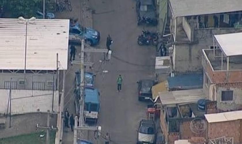 Unidade de Polícia Pacificadora do Morro dos Macacos é atacada