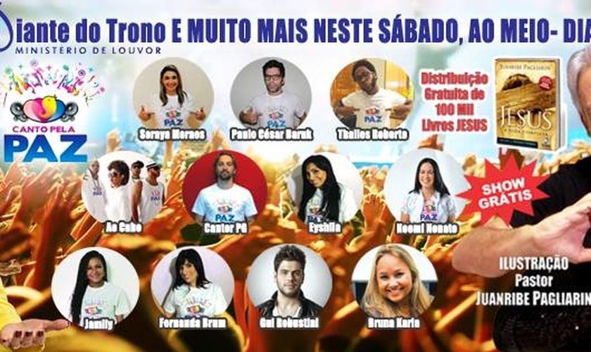 """Fernanda Brum e Bianca Toledo estarão no """"Canto pela Paz 2014"""""""