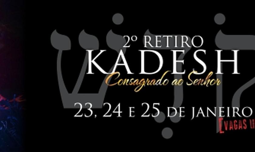Pr. Adhemar de Campos estará no 2º Retiro Kadesh, da Igreja Batista do Povo