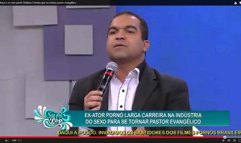 Pastor Giuliano Ferreira Ex-ator pornô