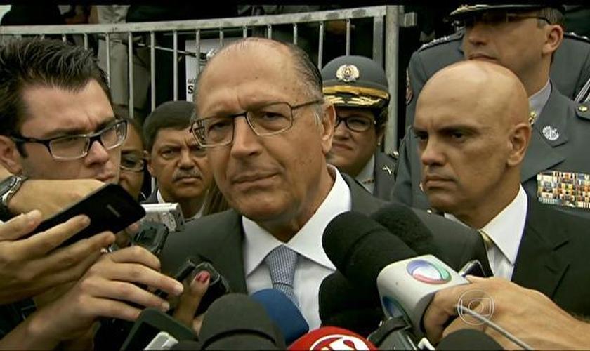 Geraldo Alckmin em entrevista