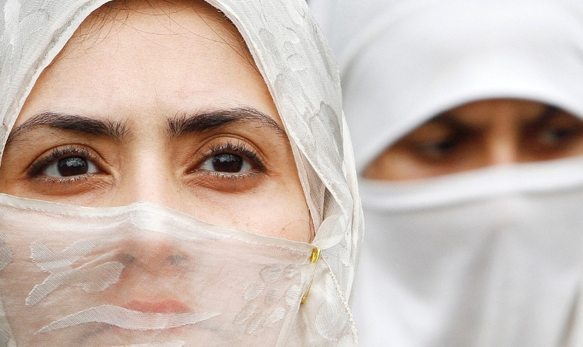 Imagem: Mulheres muçulmanas, no Paquistão.