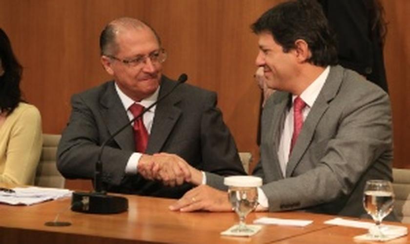 Câmara quer ouvir Alckmin e Haddad falar sobre crise d'água