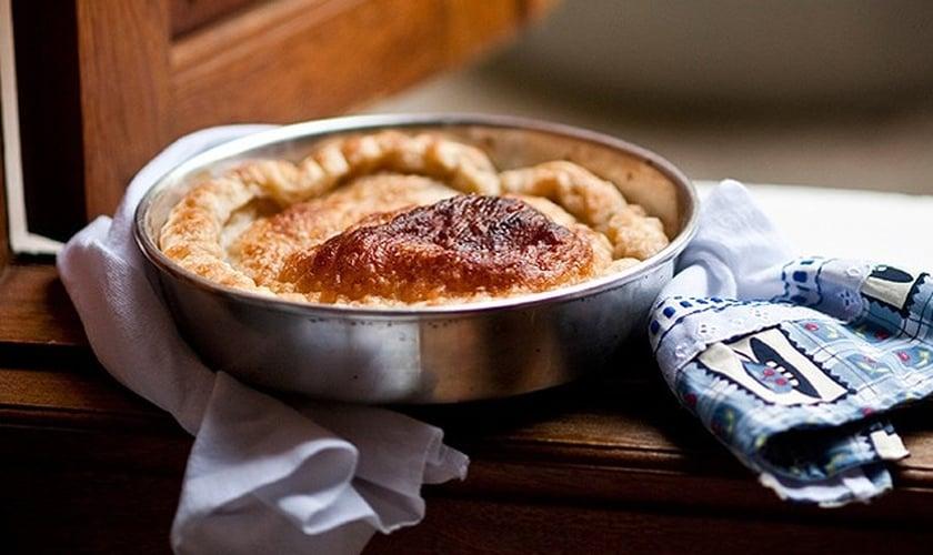 Torta de maçã americana